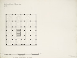 Plan of Shaikh Sarab's rauza at Patan